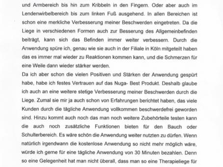 Erfahrungsbericht aus Köln!