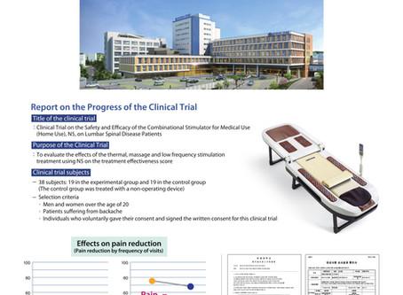 Klinische Untersuchung über die Therapieliege N5