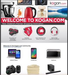 Kogan one of Australia's largest online retailers