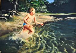 Nikolai and the water