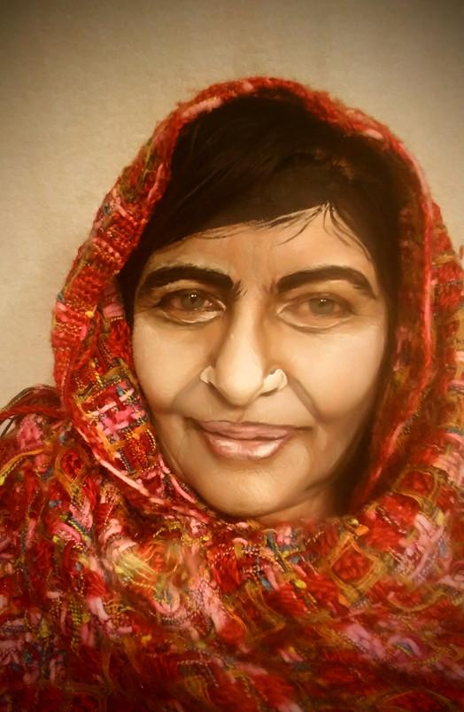 Auto painting. Malala