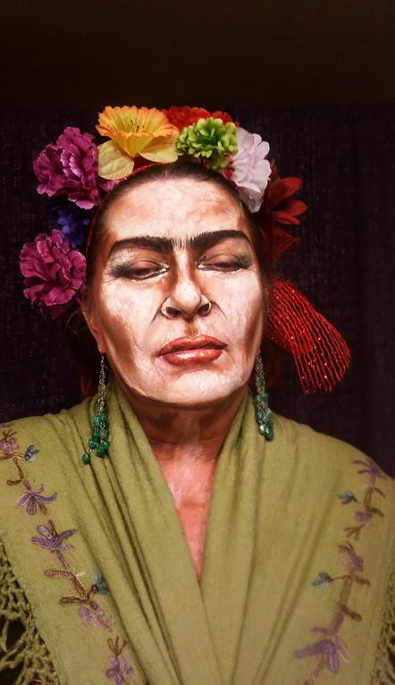 Self-painting, Frida.