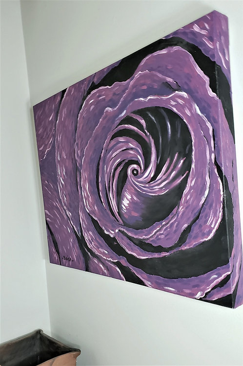 Heart of the purple rose