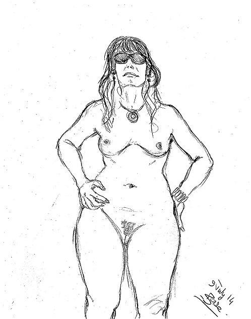 Portrait of a nudist