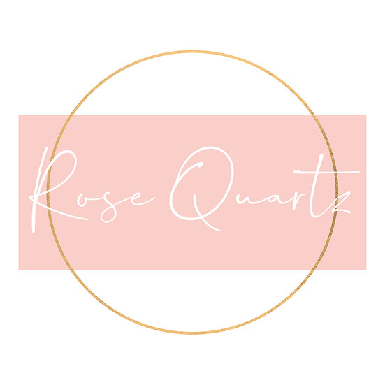 Rose Quartz Premade logo