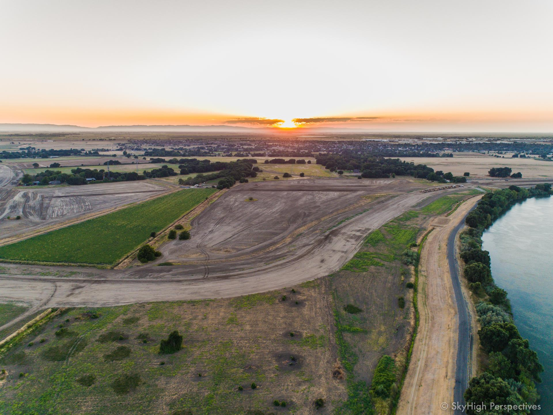 west sac sunset