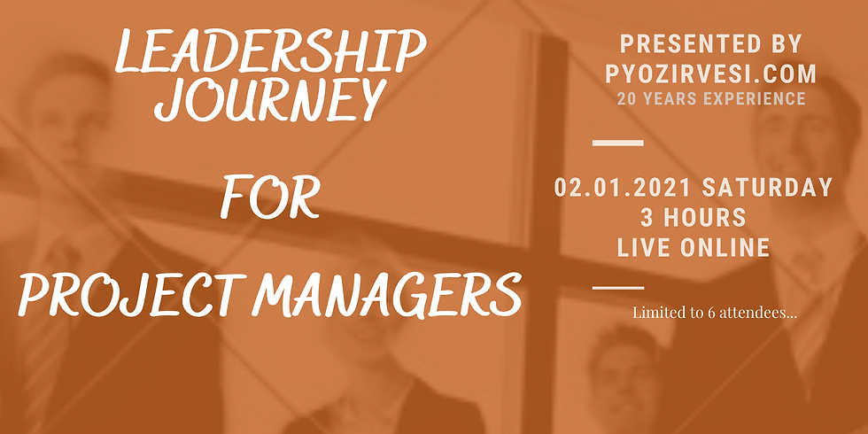 Leadership Journey for Project Managers
