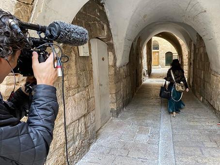 "Filming ""Converts"" Documentary in Jerusalem, Israel this week"