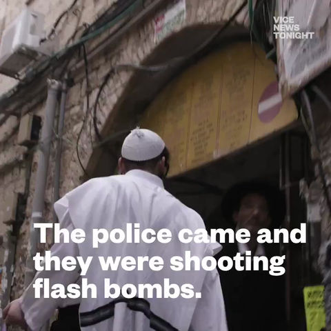 Promo of our Latest work for Vice News Tonight from Jerusalem,Israel.