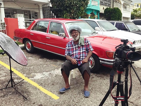 Filming a new Music Documentary in Kingston Jamaica