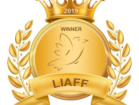 """Best Short Documentary award for our film """"Lost in Paradise"""" by Oren Rosenfeld."""