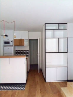 Paris 18E Lamarck studio 25m2