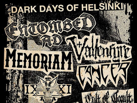Dark Days of Helsinki: Extreme metal par excellence