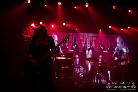 Electric Wizard w/ Tombstoned, Hooded Menace - Live Report