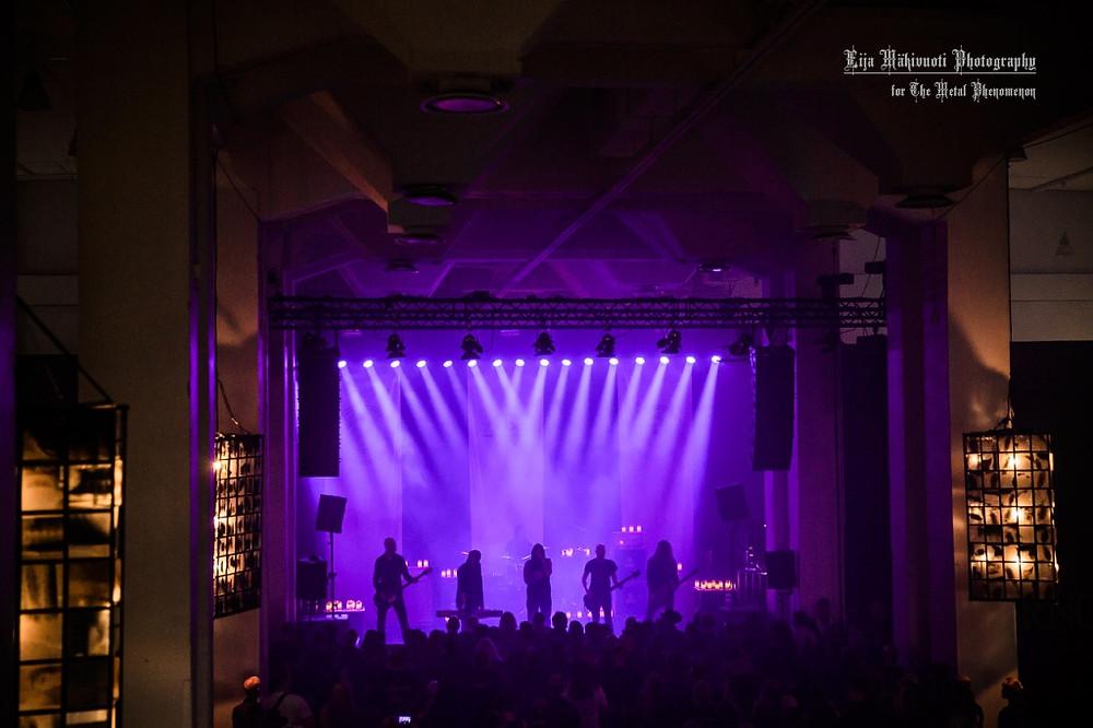 The third and last Swallow The Sun show at Tuska 2016: Doom! (Photo by Eija Mäkivuoti)