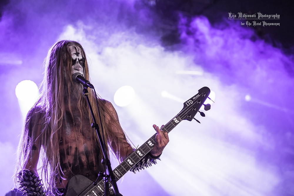 Tsjuder delivered some pure Norwegian black metal. (Photo by Eija Mäkivuoti)