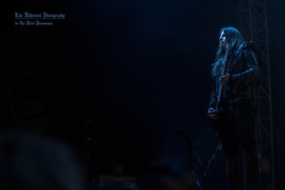 Behemoth performed their ritual on Tuska Saturday. (Photo by Eija Mäkivuoti)