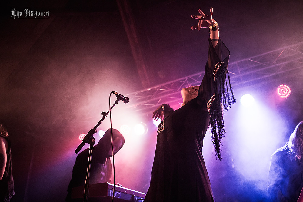 Jess and the Ancient Ones (Photo by Eija Mäkivuoti)