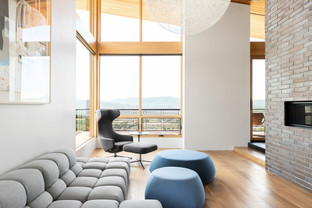 midway utah modern architecture living room