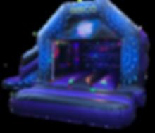 Disco Slide Bouncy Castle