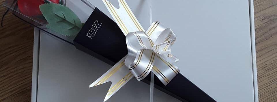Soap Flower Rose Gift Box