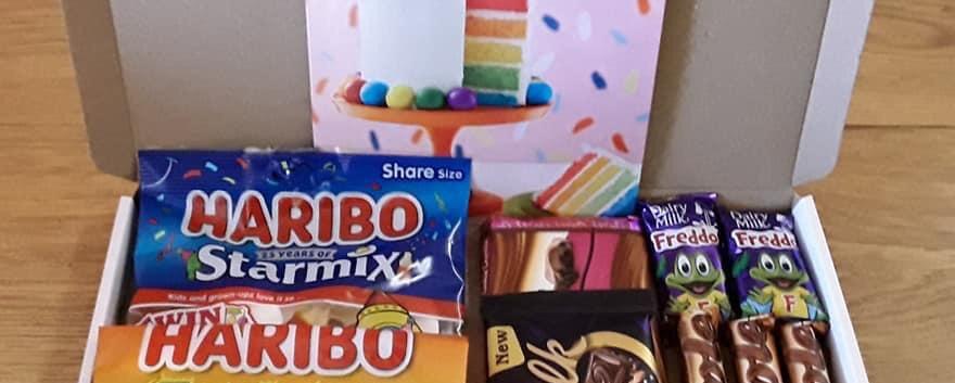 Haribo & Chocolate box