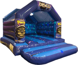Disco Bouncy Castle hire