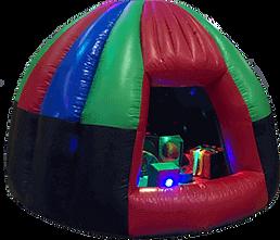 Inflatable Sensory Dome with soft play and sensory lights