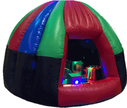 Inflatable Sensory Dome with soft play and sensory lights