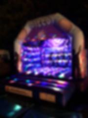 Disco Bouncy Castle Hire MEGA