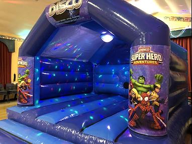 Superhero Bouncy Castle Hire