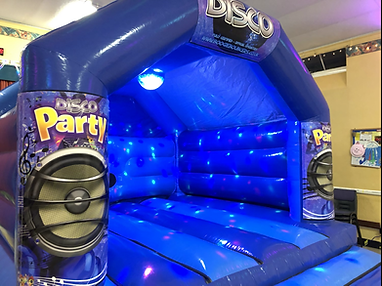 Disco Bouncy Castles by Boogie Bouncers