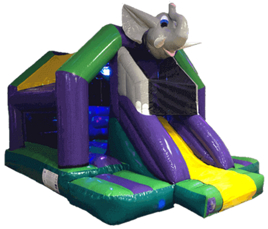 Elephant Bouncy Castle hire worthing