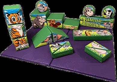 Jungle Soft Play Shapes