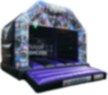 Adult Large Disco Bouncy Castle