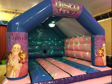 Princess Bouncy Castle Hire