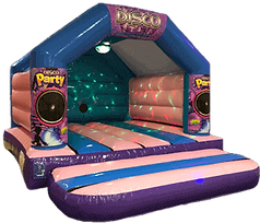 Disco Bouncy castle hire worthing