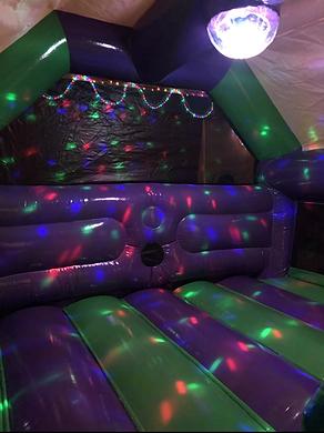 Elephant Disco Bouncy Castle