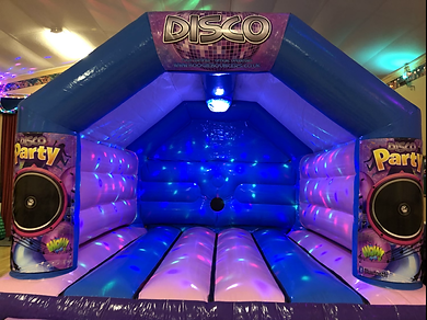 Girls Disco Bouncy Castle Hire Worthing