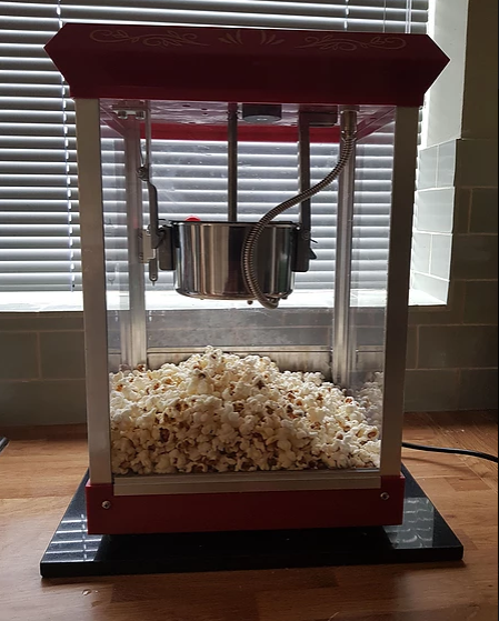 Popcorn Bouncy Castle Hire