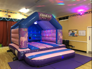 Unicorn Bouncy Castle Hire Worthing