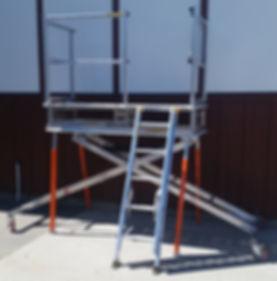 Adjustable Work Platforms
