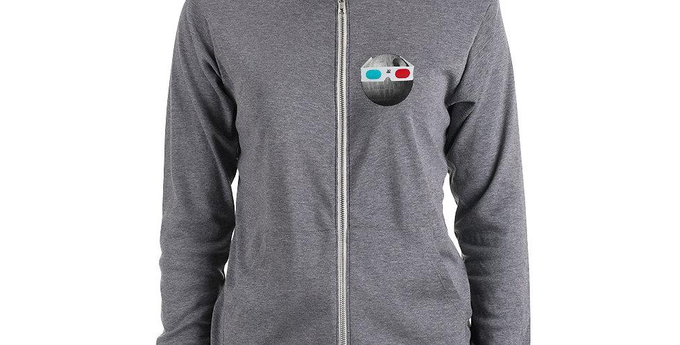 MAZAN MOVIE CLUB logo Hoodie (Unisex zip style)