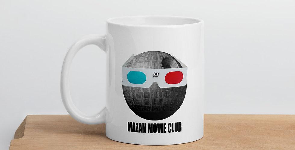 MAZAN MOVIE CLUB logo Mug