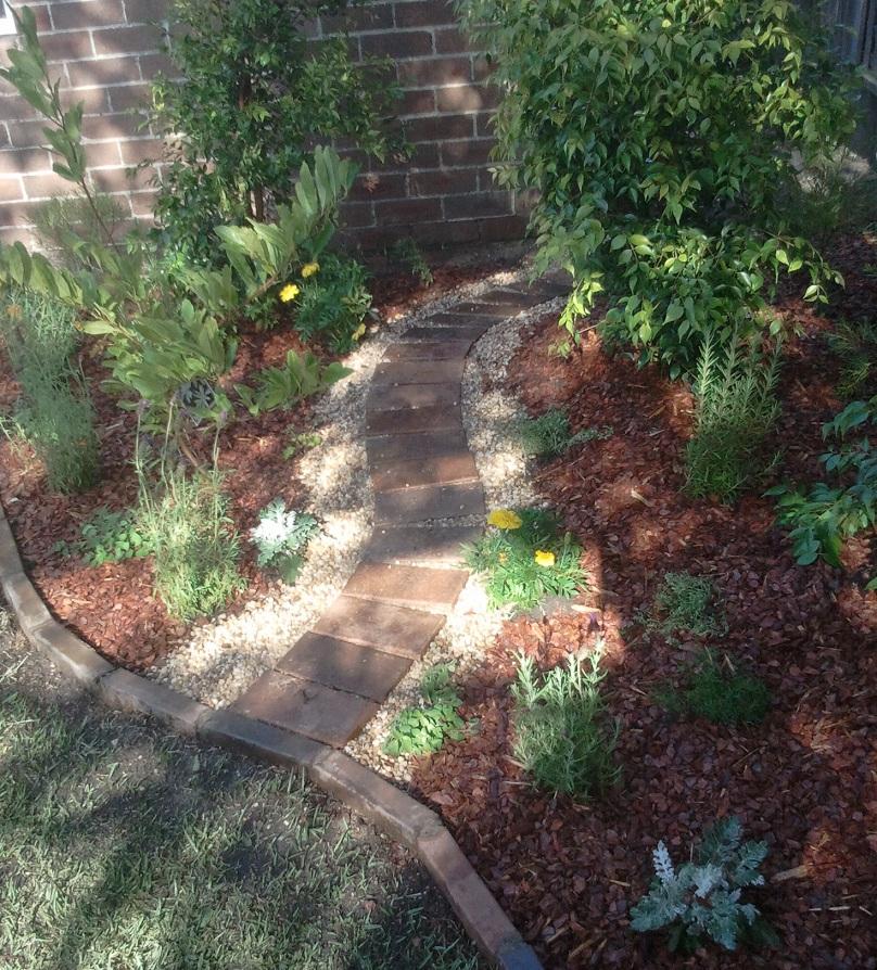 Rodd Point garden path