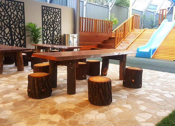 Hardwood Slab Table