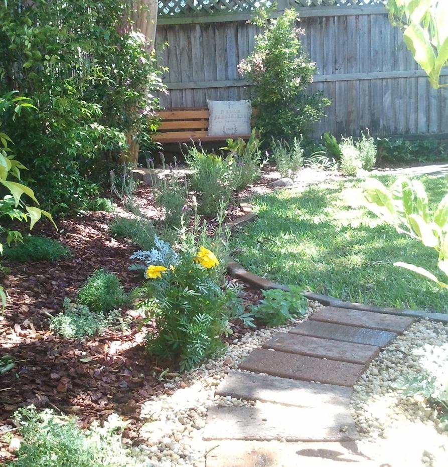 Rodd Point home garden