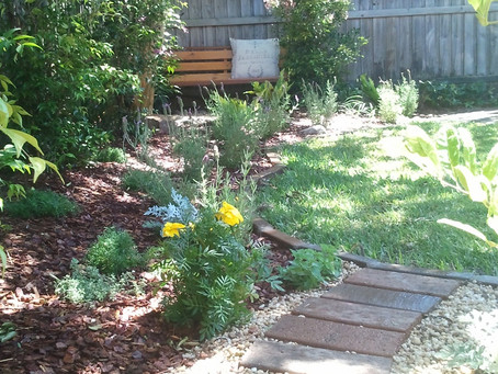 Home Gardens - creating a restful space