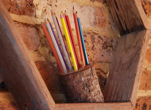 Pine Pencil Holder