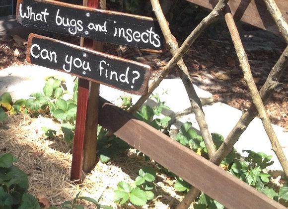Interactive Garden Signs